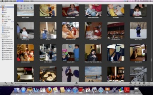 Iphoto screen