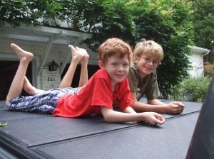 2011.09.05 Ian and Jonah 2